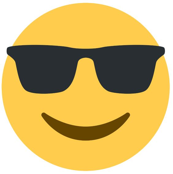 smile w sunglasses
